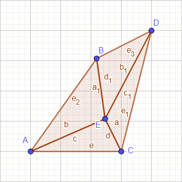 Four Triangles
